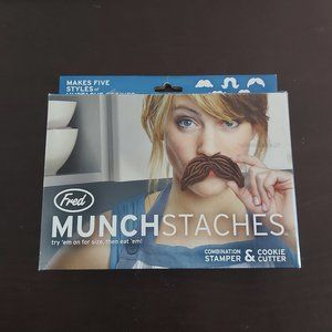 Fred Munchstasches Cookie Cutters